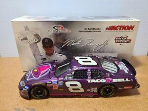 2004 Martin Truex Jr #8 Taco Bell / Bristol Race Win 1:24 NASCAR Action MIB