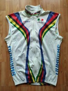 Hicari Sport UCI World Champion Stripes Windtex Windproof Cycling Vest Size: XL