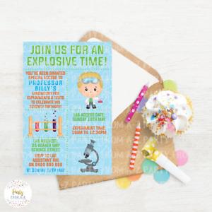 Kids Birthday Party Invites - Boy Theme