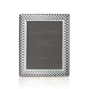 Cornice Portafoto in Argento Massiccio 925 Lucido Quadri cm 10 x 15