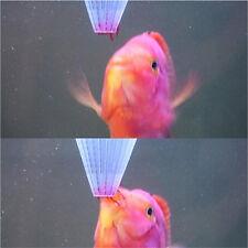 New listing 4x Aquarium Red Worm Feeder Cone Feeding for Fish Tank Angel Fish Discus FishTc