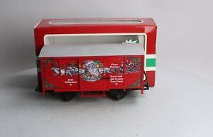 LGB 43352 Merry Christmas Sound Boxcar LN/Box