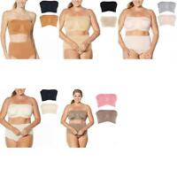 New Rhonda Shear LOT OF 2 Underwire Bandeau Bra with Removable Pads. 688843-Plus