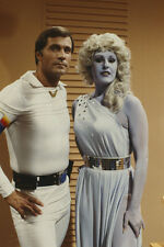 Buck Rogers in the 25th Century TV series 35mm slide Gil Gerard & blonde alien