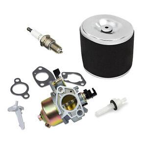 Kit Fits Honda GX390 13HP Carburetor Air Filter Element Spark Plug Fuel Valve