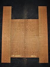 Guitar Luthier Tonewood SOUTH AMERICAN LEOPARDWOOD Acoustic backs sides SET