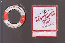 SUPER-TONE RECORDISC RECORDING WIRE: 1 HOUR REEL