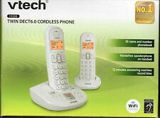 VTech 15350 Twin Cordless Home Phone -White brand new