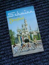SCHWINN 1966 NOS Bicycle Sales Catalog*DISNEYLAND-Stingray-Paramount-Cycle Truck