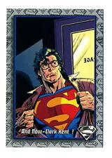 Skybox 1993 The Return of Superman Base Card #97 And Now - Clark Kent!