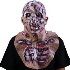 Halloween Cosplay Scary Costume Devil Zombie Latex Horror Monster Full Face Mask