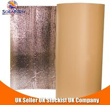10 x 1.05m Self Adhesive Thermal Acoustic Insulation Van Camper and Caravan