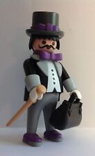 "Playmobil Victorian Gentleman in Tuxedo, with Top Hat, bag and cane  ""NEW"""