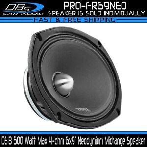 "DS18 PRO-FR69NEO 6x9"" Neodymium Midrange Speaker 500w 4-ohm Neo Loudspeaker"