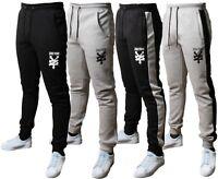 Mens Zoo York Logo Fleece Joggers Jogging Bottom Sweat Pants Trousers Fit Gym