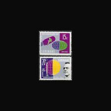 SURINAM, Sc #C28-29, MNH, 1961, Space, Shepard, Gagarin, Cpl set, 1FHD