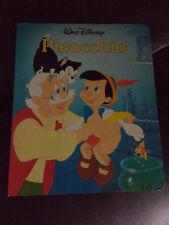 Walt Disney Twin Books 1987 Pinocchio