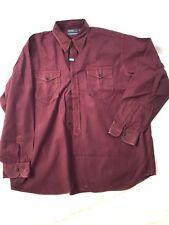 Vintage 90's Polo Ralph Lauren Woodsman Work Shirt!  Buffalo Plaid 2 Pockets XL