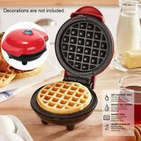 Mini Waffle Maker Non Stick Snacks Pancake Cake Breakfast Making Machine