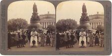 Russie Россия Saint-Pétersbourg STEREO Stereoview Vintage argentique 1897
