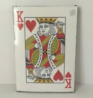 """King Size Giant Playing Cards 10""""x14"""" Party Game"""