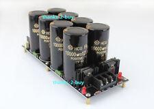 125v/8*10000uf 120a Capacitor HIFI Amplifier Rectifier Filter Power Supply Board