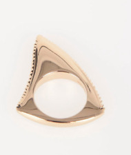 Givenchy Shark Tooth Ring Size Small UK M US 6  Statement Collectors Gift Boxed