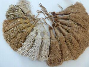 Luxury Beaded Silk Key Tassels