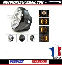 optique phare av clignotants intégrés HEADLIGHT CUSTOM honda shadow