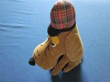 Vintage R Dakin Dream Pets Sherlock Holmes Basset Hound braun Samt Japan