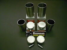 Rover k series 1.6/1.8 pistons + liners set of 4 freelander/mgf/mgtf/25/45