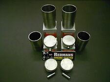 Rover k series 1.6/1.8 pistons + liners set of 4 freelander/mgf/mgtf/25/45