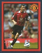 PANINI MANCHESTER UNITED 2008/09 #122-EIRE-ROY KEANE IN ACTION