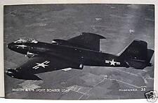 Martin B 57B Light Bomber USAF Airplane Vending Card 35