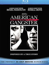 American Gangster (Blu-ray Disc, 2008) Brand New Factory Sealed!!