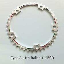 41th Pantographed Chainring 144BCD NEW! Italian or Merckx for Campagnolo crank
