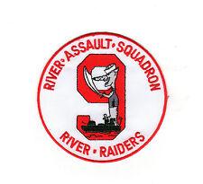 RIVRON-9 - River Raiders - Rat BC Patch Cat. No. C5103
