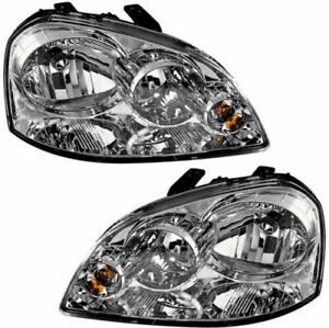 FIT FOR FORENZA 2005 2006 2007 2008 HEADLIGHT RIGHT & LEFT PAIR SET