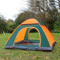 Wurfzelt Camping Wasserdicht Camouflage Trekkingzelt 3 - 4 Personen Camping zelt