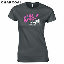 131 Bada Bing Womens T-Shirt new jersey costume funny mobster humor gangster