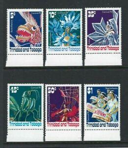 Trinidad & Tobago 1979, Carnival sg526/31 MNH