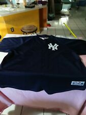 Alex Rodriguez #13 New York Yankees Majestic Blue & Gray Jersey Size Men's 3XL