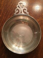 "Wallace Sterling Silver Porringer Pierced Handle Mono ""BSR"" No. 4361"