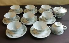 Empress China Japan TRADITIONAL 1901 set of 18 cups saucers & sugar