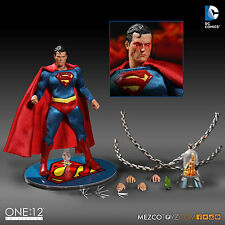 ONE:12 COLLECTIVE SUPERMAN ACTION FIGURE DC UNIVERSE MEZCO TOYZ 1/12 SCALE 15cm