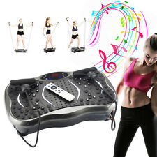 Vibration Plate w/ Bluetooth Speaker Body Fitness Trainer Oscillating Platform