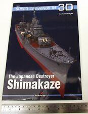 Japanese Destroyer Shimakaze by Mariusz Motyka Paperback Book