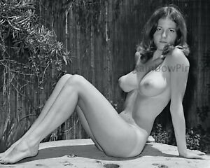 A474 8x10 BUSTY 1960s Pinup, LANA WILFRED #1 * BIG BEAUTIFUL BREASTS! (NUDES)