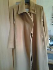 Original Max Mara coat cappotto wool+cachemire camel 42 IT 10 UK 8 USA Perfetto!