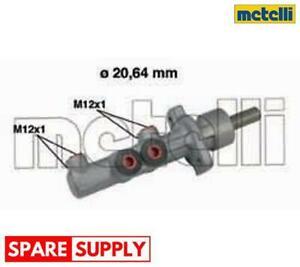 BRAKE MASTER CYLINDER FOR SEAT SKODA VW METELLI 05-0493